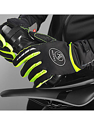 cheap -Nuckily Winter Winter Gloves Bike Gloves / Cycling Gloves Mountain Bike Gloves Mountain Bike MTB Anti-Slip Touch Screen Thermal Warm Windproof Full Finger Gloves Touch Screen Gloves Sports Gloves Red