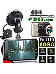 cheap -NEW Style 4 Inch LCD Screen 170 Degree Dual Lens HD 1080P Camera Car DVR Vehicle Video Dash Cam Recorder G-Sensor