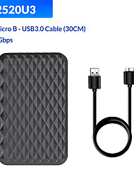 cheap -2520 U3 Mobile Hard Disk Box 2.5 Inch Notebook Ssd Solid State Sata3.0usb3.0 External Box