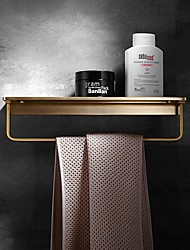 cheap -Towel Bar / Bathroom Shelf New Design / Creative Contemporary / Modern Brass 1pc - Bathroom Wall Mounted
