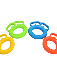 cheap -Four Color Professional Rehabilitation Silicone Finger Grip Ring Double Ring Grip Training Finger Fitness Equipment Elderly Stroke Hemiplegia