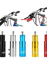cheap -bike stem riser bike fork stem extender bicycle handlebar raiser head up adapter suitable for mountain bike, road bike, mtb, bmx, fixie (aluminium alloy, adjustable, black)