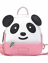cheap -txvso cute kawaii panda children backpack rucksack kindergarten cartoon schoolbag for kids toddler, black