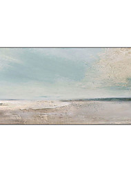 cheap -100% Hand-Painted Contemporary Art Oil Painting On Canvas Modern Paintings Home Interior Decor Abstract Beach Art Painting Large Canvas Art(Rolled Canvas without Frame)
