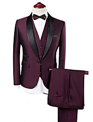 cheap -Burgundy custom tuxedo