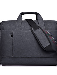 cheap -Unisex Waterproof Oxford Cloth Laptop Bag Zipper Solid Color Daily Office & Career Black Red