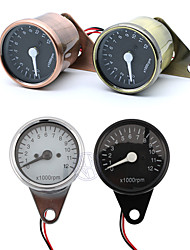 cheap -Universal Motorcycle 12V LED Digital Backlight 12K RPM Gauges Cluster Speedometer Tachometer Meter Odometer Instrument Assembly