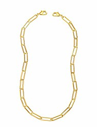 cheap -gold face mask lanyards chain necklace strap, face cover mask holder handy ear saver paper clip necklace jewelry for women men teen girls kids