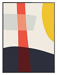 cheap -100% Hand-Painted Contemporary Art Oil Painting On Canvas Modern Paintings Home Interior Decor Abstract Color Block Art Painting Large Canvas Art(Rolled Canvas without Frame)