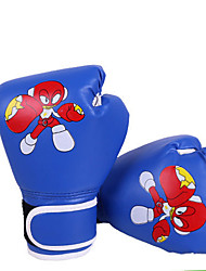 cheap -Boxing Gloves For Boxing Full Finger Gloves Breathable Wearproof Protective PU(Polyurethane) Red Blue
