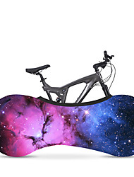 cheap -bike covers bicycle wheel cover indoor anti-dust,  stretchy dirt proof fabric washable elastic scratch-proof gear tire protective stylish accessory (star6,160x55cm)