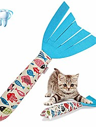 cheap -catnip toys cat toy, cat chewing toy fish shape doll catnip chews catnip teeth grindingtoys pets pillow for cats pet supplies