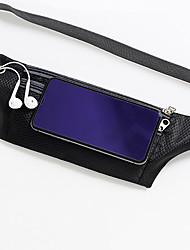 cheap -Women's Bags Polyester Fanny Pack Zipper Solid Colored Daily Outdoor 2021 Black Red Blushing Pink Orange