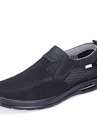 cheap -Men's Loafers & Slip-Ons Casual Daily Mesh Breathable Black Gray Coffee Summer