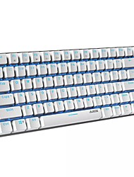 cheap -Ajazz Ak33-mechanical Gaming Keyboard 82 Keys Layout Backlight Usb Wired Anti-ghosting For Pc Gamers