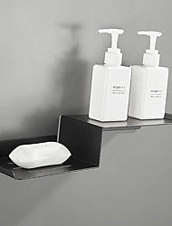 cheap -Bathroom Shelf / Soap Dishes & Holders Multilayer / New Design / Cool Contemporary / Modern Stainless Steel 1pc - Bathroom / Hotel bath Wall Mounted