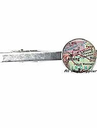 cheap -charming tie clip lansing,michigan map tie clip,lansing tie clip tie pin,map jewelry,map tie clip resin tie clip tie pin,map jewelry,a0044 (1)