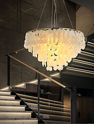 cheap -4-Light 50 cm Chandelier Metal Shell Painted Finishes Modern 110-120V / 220-240V