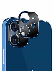 cheap -compatible with iphone 12 camera lens protector,not fit for iphone 12 pro, [2 pack] aluminum alloy lens protective ring circle metal camera lens protector for iphone 12 6.1 inch,blue
