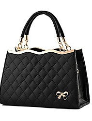 cheap -women fashion top handle lady purse shoulder handbag (black)
