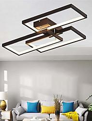 cheap -1-Light 40 cm Flush Mount Lights Metal Silica gel Geometrical Painted Finishes LED Modern 110-120V 220-240V