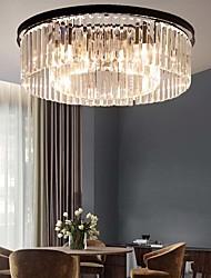 cheap -8-Light 60 cm Flush Mount Lights Metal Brass Traditional / Classic 110-120V / 220-240V