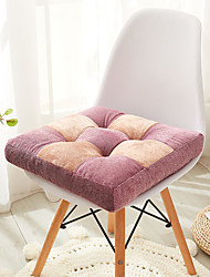 cheap -Cation Velvet Super Soft 9 Grid Seat Cushion Home Office Thickened Chair Cushion Home Office Seat Bar Dining Chair Seat Pads Garden Floor Cushion