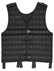 cheap -men's hunting waistcoat breathable gear load carrier vest for outdoor camping hiking fishing hunting vest with hydration pocket