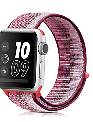 cheap -Watch Band for Apple Watch Series 6 / SE / 5/4 44mm / Apple Watch Series 6 / SE / 5/4 40mm / Apple Watch Series 3/2/1 38mm 42mm  Apple Sport Band Nylon Wrist Strap
