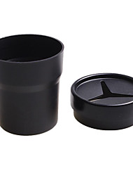 cheap -Mini Car Trash Bin Auto Portable Vehicle Black Rubbish Can Trash Dustbin Garbage Car Storage Box For Car Ashtray Car Accessories