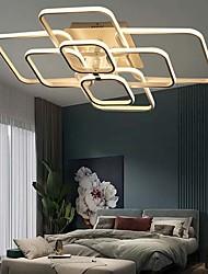 cheap -LED® 4-Light 42 cm Flush Mount Lights Aluminum Acrylic Island / Geometrical Painted Finishes LED / Modern 110-120V / 220-240V