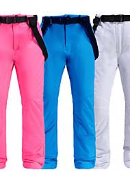 cheap -Men's Ski / Snow Pants Skiing Camping / Hiking Snowboarding Thermal Warm Waterproof Windproof 100% Polyester Space Cotton Bib Pants Ski Wear / Winter