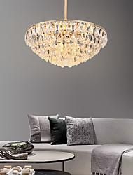 cheap -8-Light 60 cm Chandelier Metal Crystal Electroplated Modern 110-120V / 220-240V