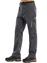 cheap -hiking pants mens,zip off convertible outdoor upf 50+ quick dry lightweight fishing cargo pants with belt (6088 grey, 29)