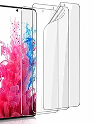 """cheap -[3 pack] galaxy s20 ultra screen protector -tpu film hd clear [fingerprint recognition] [case-friendly] [anti-scratch] [bubble free] premium protective film,for samsung galaxy s20 ultra (6.9"""")"""