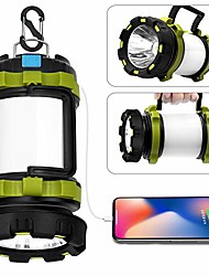 cheap -led camping lantern rechargeable, t2000 high lumen light flashlight, 6 modes, high capacity power bank - best lantern flashlight for camping outdoor hurricane emergency everyday light flashlight