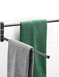 cheap -Towel Bar Multilayer / New Design / Creative Contemporary / Modern Stainless Steel / Iron 1pc - Bathroom / Hotel bath 2-tower bar Wall Mounted