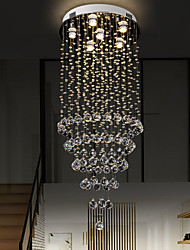cheap -100CM Crystal Chandelier Ceiling Light DIY Modernity Luxury Globe K9 Crystal Pendant Lighting Hotel Bedroom Dining Room Store Restaurant LED Pendant Lamp Indoor Crystal Chandeliers Lighting