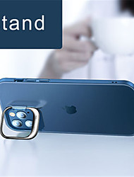 cheap -Inconspicuous Stand Case For Apple iPhone 12 Pro Max 12 Mini 11 Pro Max Conservative Case with Stand / Clear Back Cover Transparent PC Case