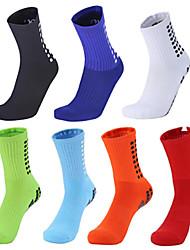 cheap -3x set - bike long bicycle socks | functional socks | flat seams | double welt | antibacterial | mountain bike, colour:bike long black/red, size:43-46