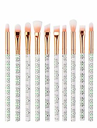 cheap -clearance sale! makeup brushes set leedy multifunctional 10pcs professional face eye shadow eyeliner foundation blush lip make up brush powder liquid cream cosmetics blending brush tool kits