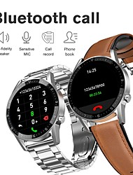 cheap -Stainless Long Battery-life Smartwatch Support Bluetooth Call/Heart Rate/Blood Pressure Measure, Sports Tracker for Android/IOS Phones