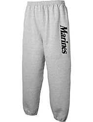 cheap -marines sweat pants in sport gray - x-large