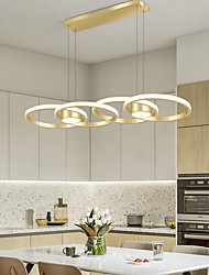 cheap -88 cm Lantern Desgin Pendant Light Metal Acrylic Painted Finishes Modern 110-120V 220-240V