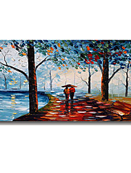 cheap -100% Hand-Painted Contemporary Art Oil Painting On Canvas Modern Paintings Home Interior Decor Abstract 3D Street Art Painting Large Canvas Art(Rolled Canvas without Frame)