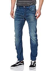 cheap -herren arc 3d slim jeans, blau (medium aged 6731-071), 36w / 36l
