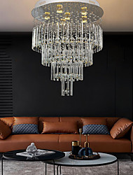 cheap -60cm Crystal Chandelier Ceiling Light DIY Modernity Luxury Globe K9 Crystal Pendant Lighting Hotel Bedroom Dining Room Store Restaurant LED Pendant Lamp Indoor Crystal Chandeliers Lighting