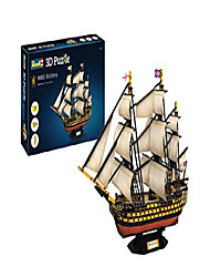 cheap -3d puzzle victory, the flagship of admiral nelson in the sea battle of trafalgar discover the world in 3d, tinkering fun for young and old, colorful