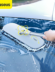 cheap -BASEUS 1pc Alloy Car Wash Brush Removable White