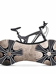 cheap -indoor mountain bike cover bicycle storage cover,bike wheel cover, indoor anti-dust mountain bike storage bag keeps floors and walls dirt-free suitable for tires of 26-28 inches (wheel a)